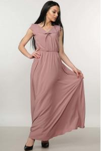 Платье «Мира-Макси» цвет пепел розы