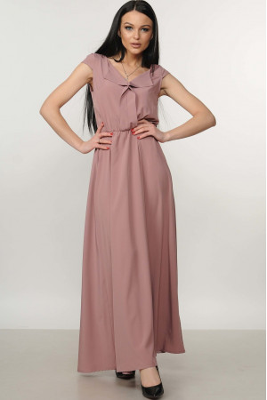 Сукня «Міра-Максі» колір попіл троянди