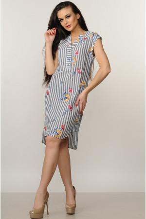 Сукня «Лана» сірого кольору – купити у Києві 048d86898d7cc