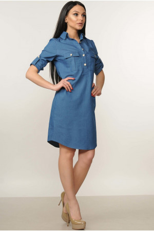 Сукня «Тейлі» синього кольору