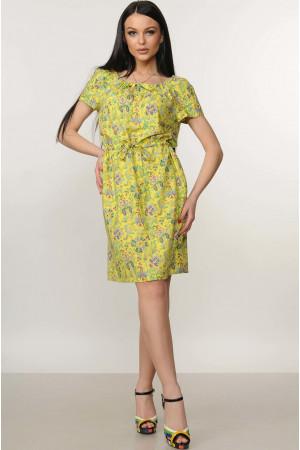 Платье «Кира» желтого цвета
