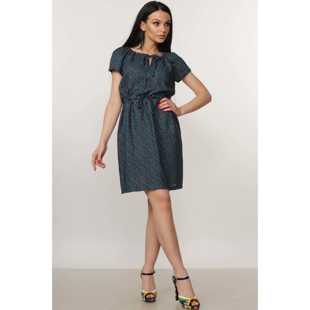Сукня «Кіра» темно-зеленого кольору – купити у Києві b382ee6967642
