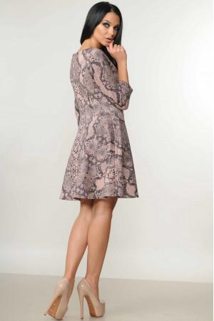 Платье «Лайма» розовый принт