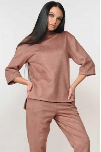 Блуза «Роу» лілового кольору