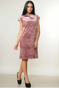 Платье «Эвелина» розового цвета