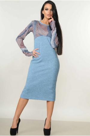 Сукня «Сніжана» блакитного кольору