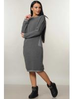 Платье «Райми» серого цвета