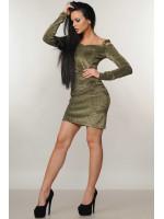 Сукня «Злата»  кольору чорного золота
