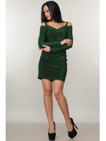 Платье «Злата» зеленого цвета