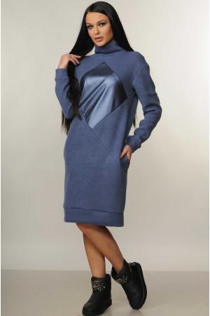 Сукня «Ромб» синього кольору
