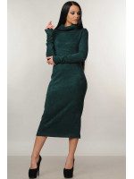 Сукня «Арктика» смарагдового кольору