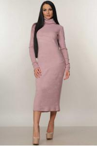 Платье «Арктика» лилового цвета