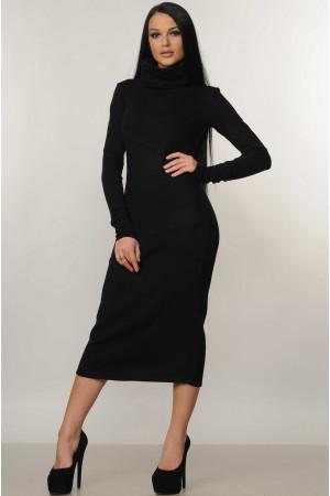 Сукня «Арктика» чорного кольору