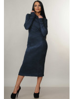 Платье «Арктика» синего цвета