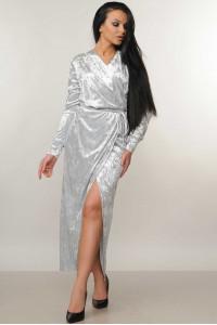 Сукня «Джесіка» сірого кольору