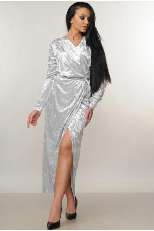 Платье «Джессика» серого цвета