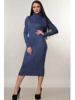 Платье «Адель» синего цвета