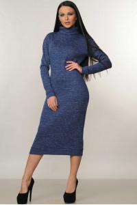 Сукня «Адель» синього кольору