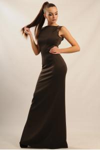 Сукня «Венеція» шоколадного кольору