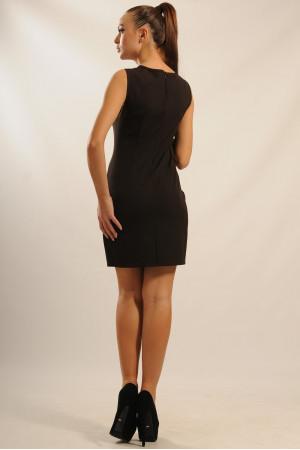 Платье «Кашибо» шоколадного цвета