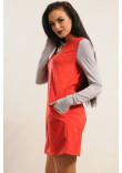 Сукня «Ківі» червоного кольору