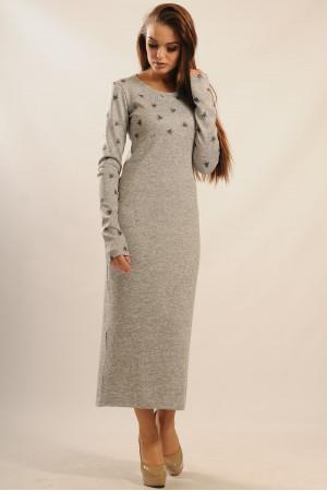 Сукня «Сніжана» кольору сірий меланж