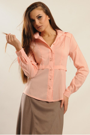 Блуза «Пинк» цвета пудры