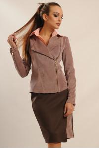 Пиджак «Велори» лилового цвета
