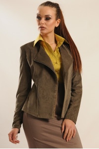 Піджак «Велорі» кольору хакі
