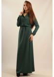 Сукня «Ваніль-Максі» зеленого кольору