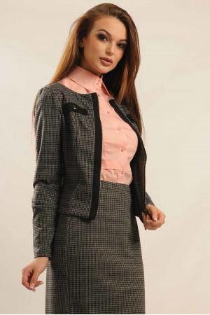 Пиджак «Бриттани» серого цвета