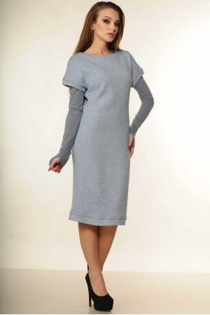 Платье «Катрин» голубого цвета