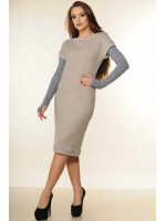 Сукня «Катрін» сірого кольору