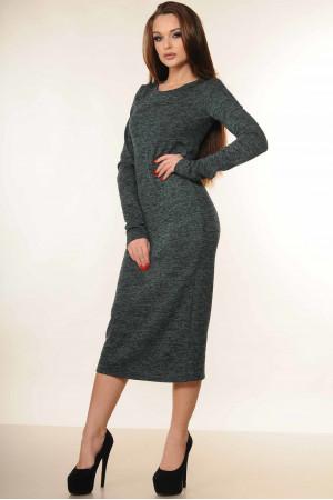 Платье «Мишель» зеленого цвета