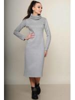 Платье «Фроузен» серого цвета