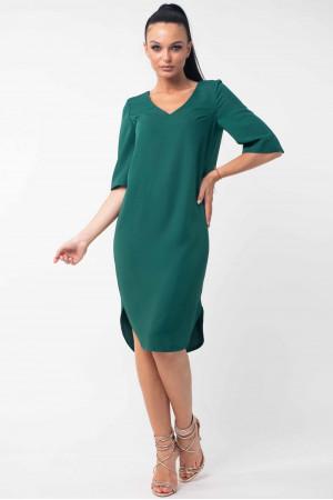 Платье «Лагуна» изумрудного цвета