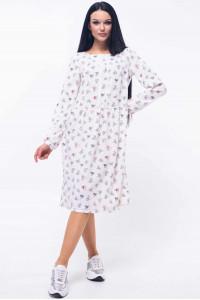 Платье «Шейла» белого цвета