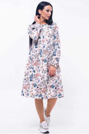 Платье «Шейла» с цветочным принтом