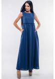 Сукня «Ліліан» темно-синього кольору