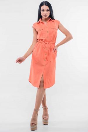 Сукня «Кайлі» персикового кольору