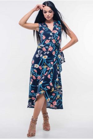 Сукня «Аліта» темно-синього кольору