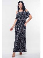 Платье «Летиция» черного цвета