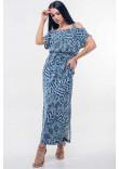 Сукня «Летиція» темно-синього кольору