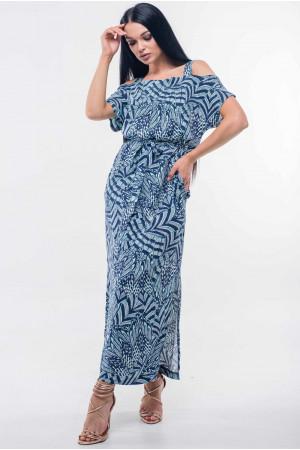 Платье «Летиция» темно-синего цвета