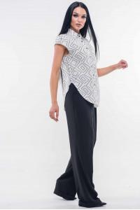 Блуза «Никки» белого цвета