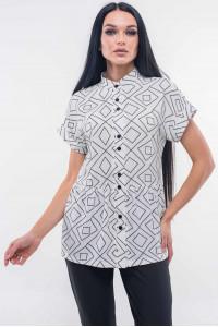Блуза «Емілія» білого кольору