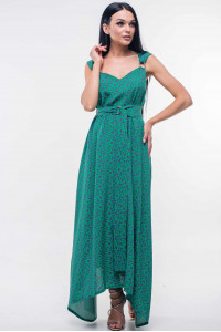 Сарафан «Верона» зеленого цвета