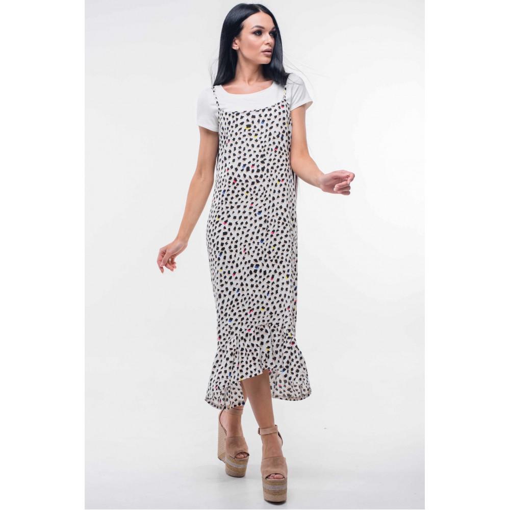 404485f434dfea Сарафан «Джилл» білого кольору – купити в Україні