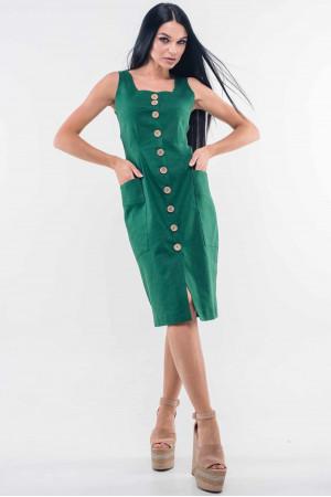 Сарафан «Киан» зеленого цвета