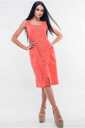 Сарафан «Киан» персикового цвета